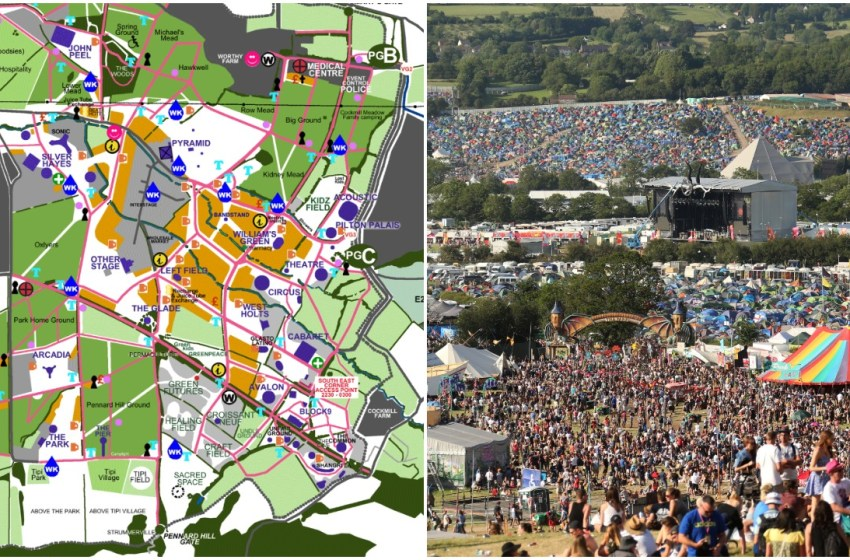 Glastonbury reveal 2019 festival map showing new additions