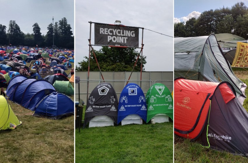 Six ways to recycle your tent after a festival