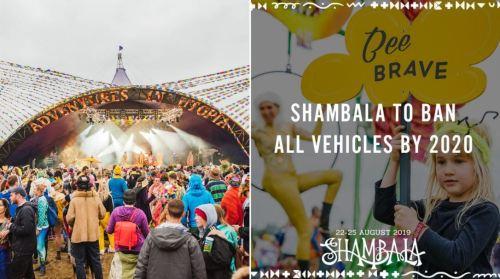 Shambala Vehicle Ban