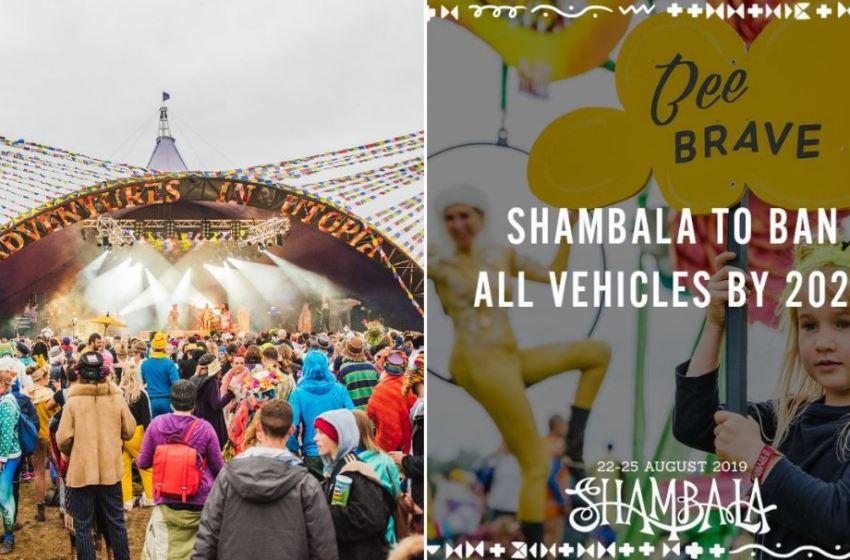 Shambala Festival to ban all motorised vehicles next year