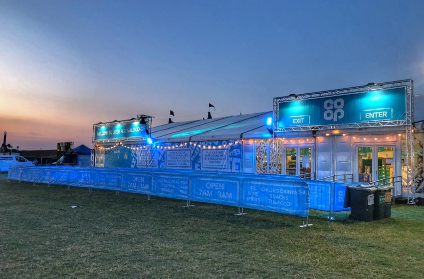 The Co-op confirm which festivals they'll be selling alcohol at this summer