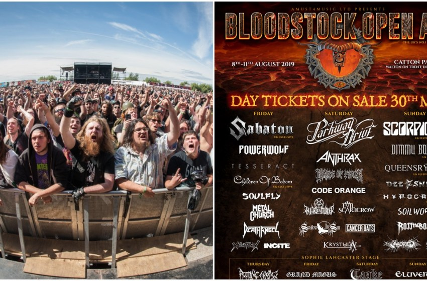 Bloodstock reveal more bands and day splits