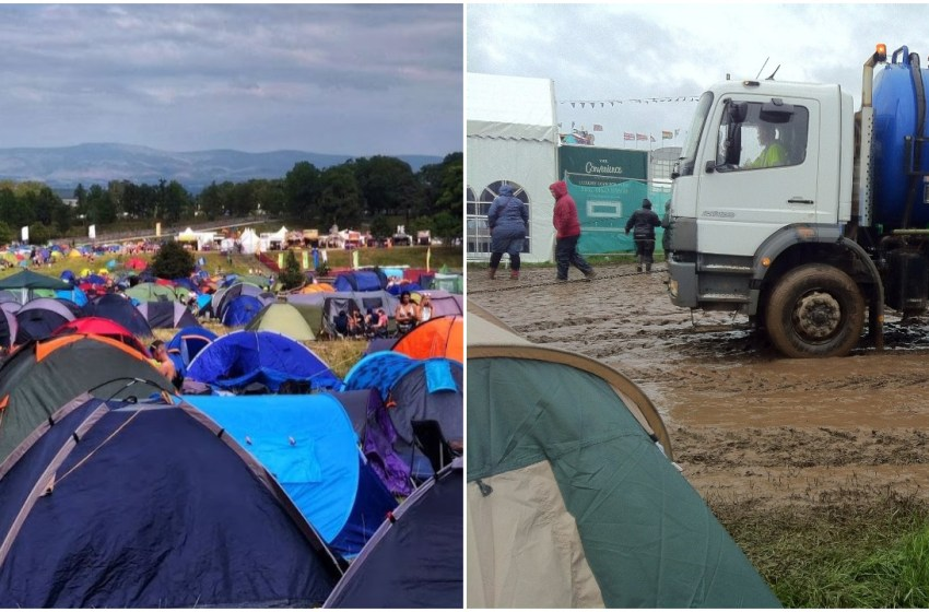 Ranked: The UK festivals where it rains the most