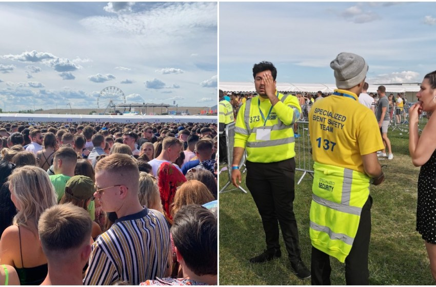 Updated: Video shows We Are FSTVL crowd surge through gates after people 'fainted' in hours of queues