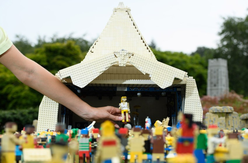 GALLERY: Check out Glastonbury 2019 recreated in Lego
