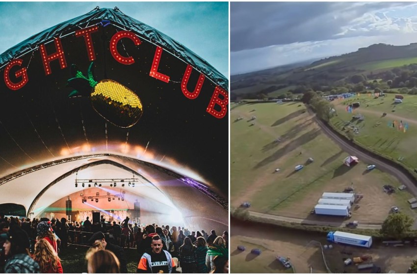 Shindig share video of immaculate campsite after festival ends