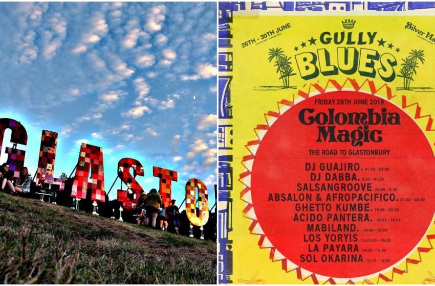Glastonbury: Friday's 'Colombia Magic' showcase at Gully Blues