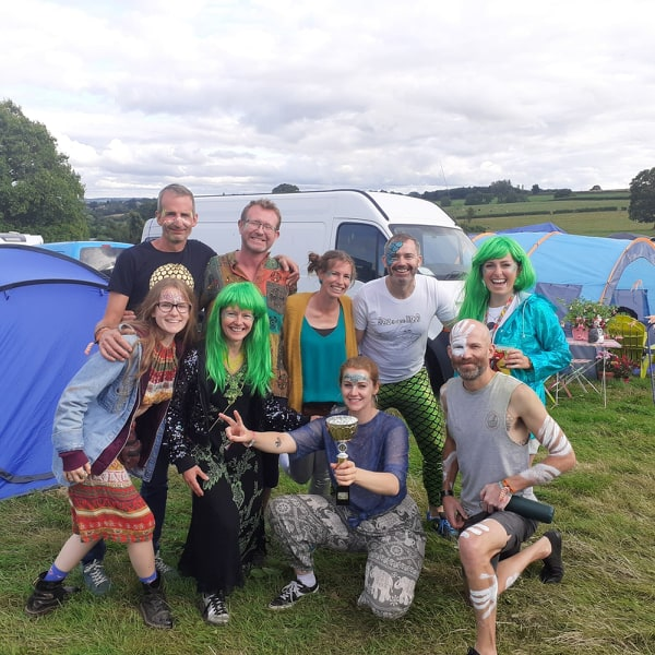 Our Nozstock family for 2019