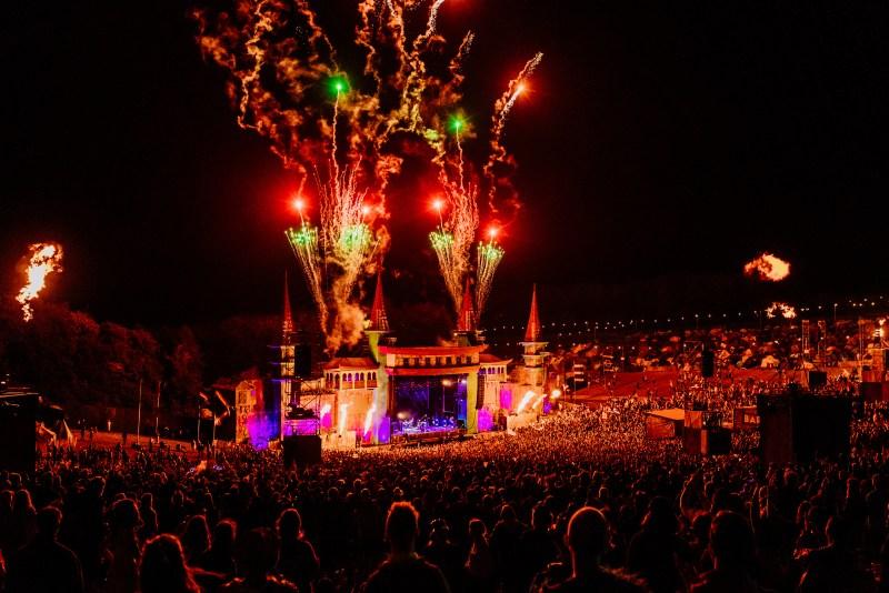Lion's Den Fireworks Boomtown 2019