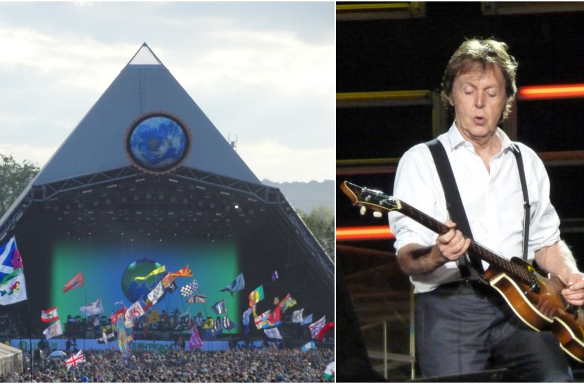 Paul McCartney appears to confirm Glastonbury slot with cryptic tweet