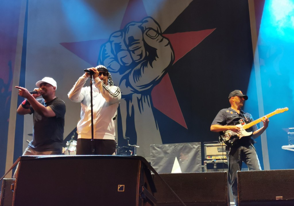 Prophets of Rage Boomtown Town Centre 2019