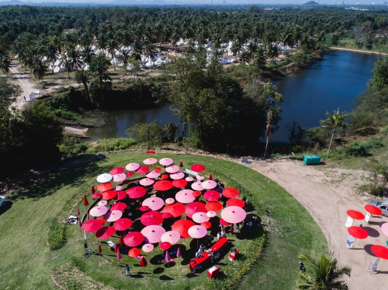 Wonderfruit Festival islands