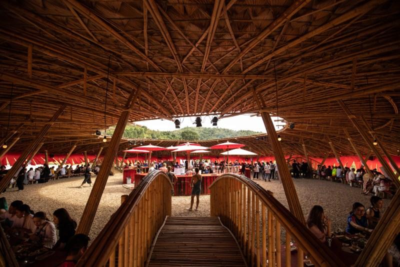 Wonderfruit Festival hut