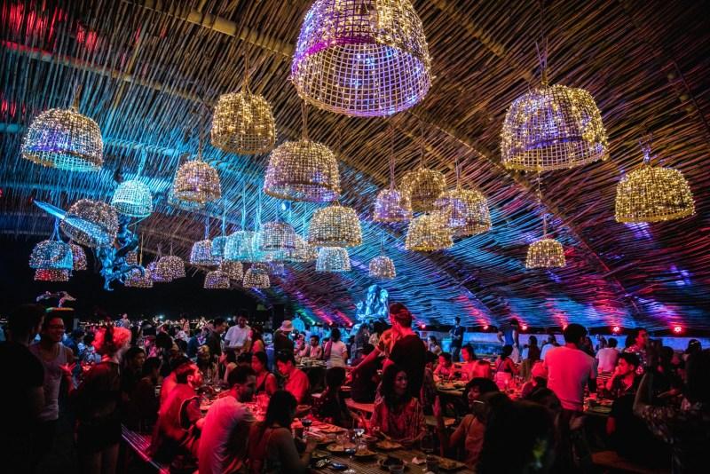 Wonderfruit Festival food hall