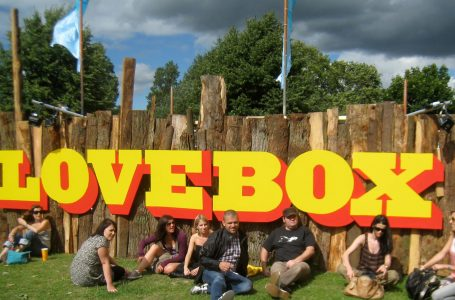 Lovebox Festival Sign