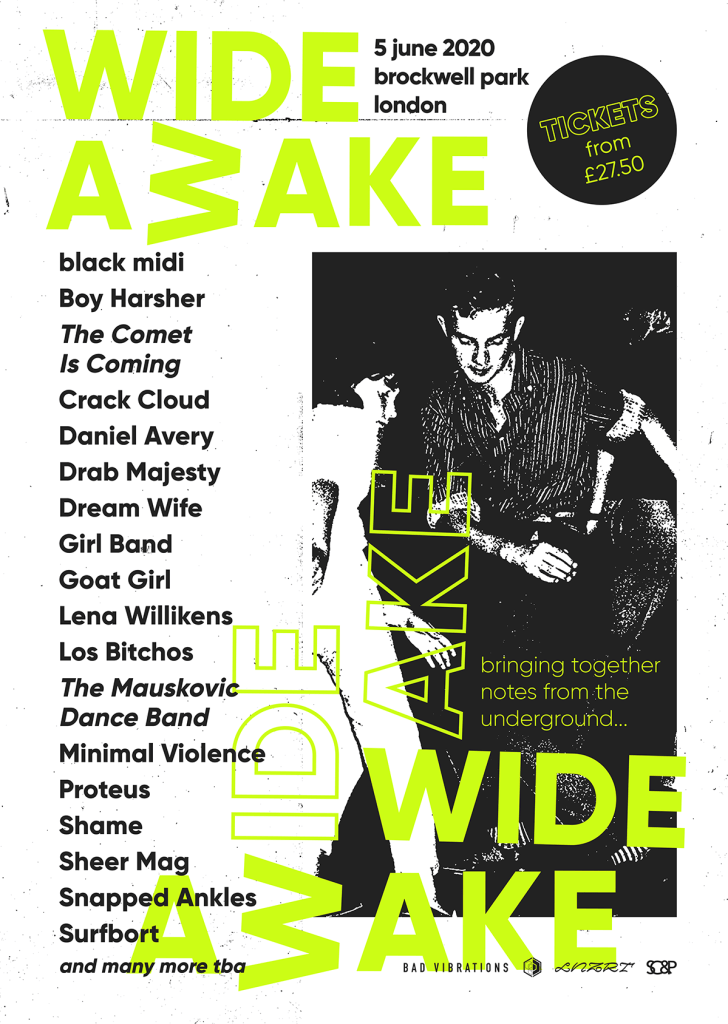 Wide Awake London line-up poster