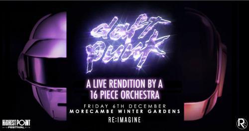 Daft Punk Orchestra Morecambe