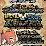 Balter Festival 2020 line-up poster