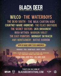 Black Deer Festival 2020 line-up poster