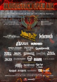 Bloodstock 2020 latest line-up poster