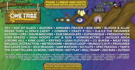 One Tribe Festival 2020 line-up poster