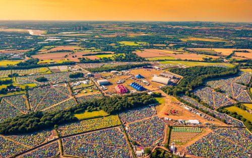Creamfields Aerial Shot