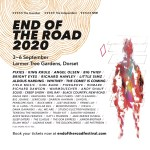 End of the Road 2020 line-up poster