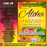 Hawaii Family Festival 2020 line-up poster