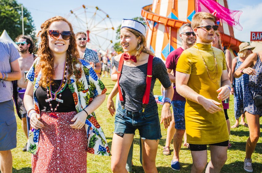 All tickets for Shambala 2020 have sold out… unless you cycle there