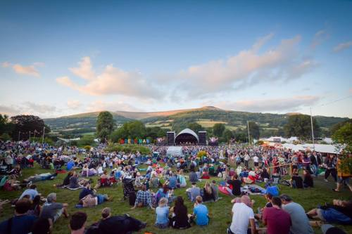 The Mountain Stage Green Man Festival