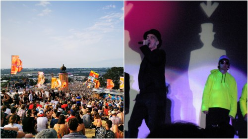 Pet Shop Boys Glastonbury