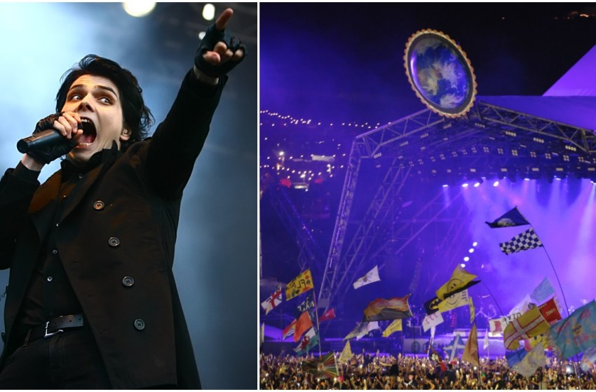 There's a Glastonbury-shaped gap in the new My Chemical Romance tour dates
