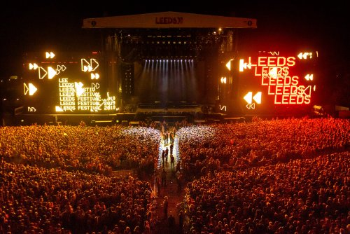 Leeds Festival rage against the machine main stage
