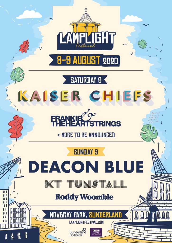Lamplight Festival 2020 line-up poster