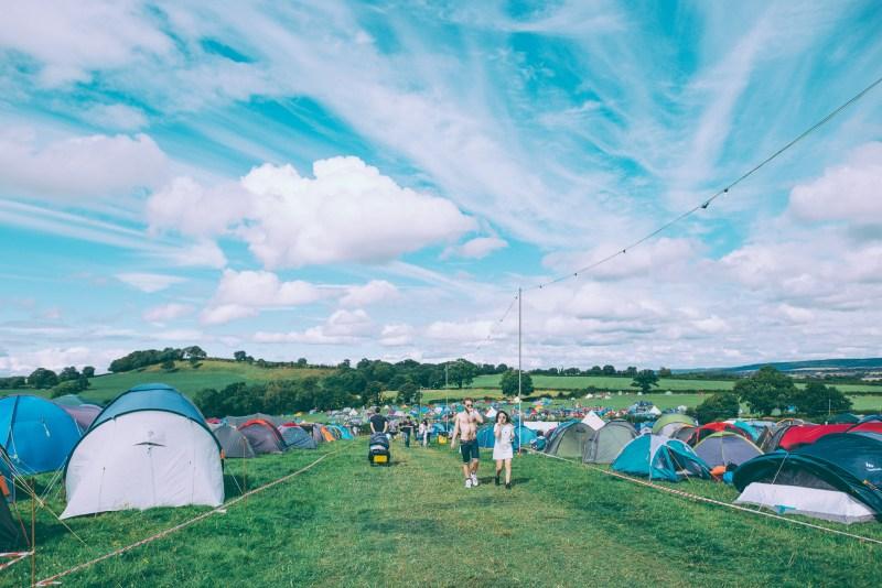 Farmfest campsite