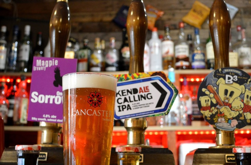 Kendal Calling have launched their own 'Kendale' IPA
