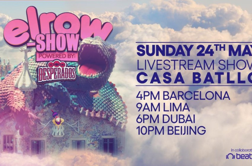 elrow to host unique live-stream party this Sunday