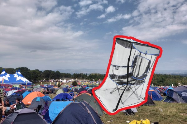 Camping Chair with rain cover