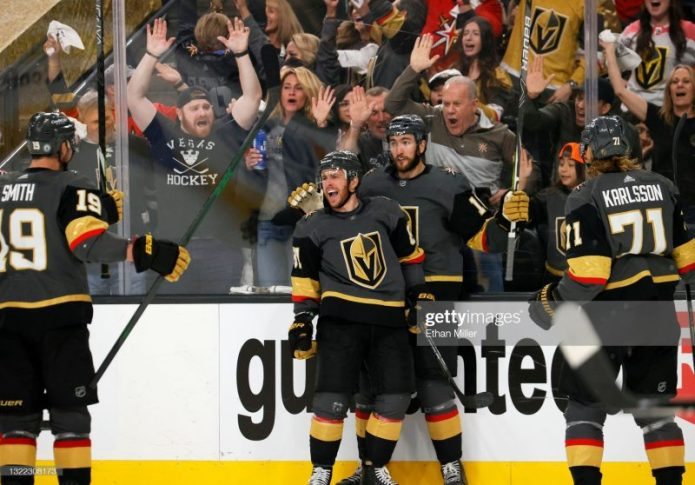 Golden Knights Return Serve as Series is Tied