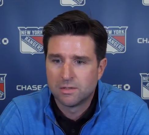 Chris Drury's Plan for the Rangers Takes a Sideways Approach