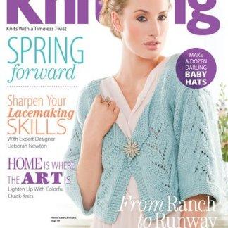 Creative Knitting Magazine Spring 2013