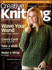 Creative Knitting September 2009