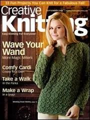 Creative Knitting September 2009