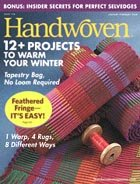 Handwoven Jan Feb 2008