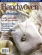 Handwoven Sep Oct 2001