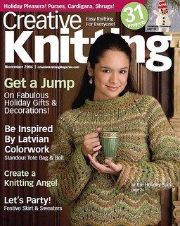 Creative Knitting November 2006