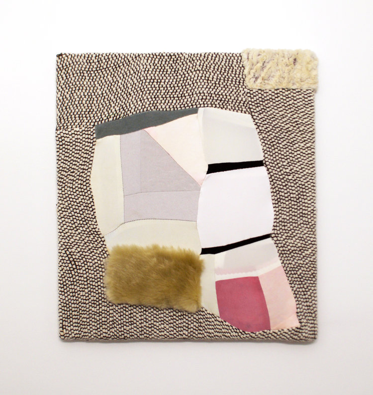 Distorted Patchwork Paintings by Anna Buckner