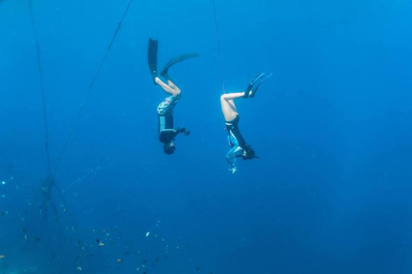 Into the Deep Blue: My First Freediving Experience