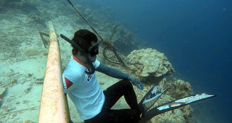 Freediving in Lambug Beach, Badian (CEBU, PHILIPPINES) 1