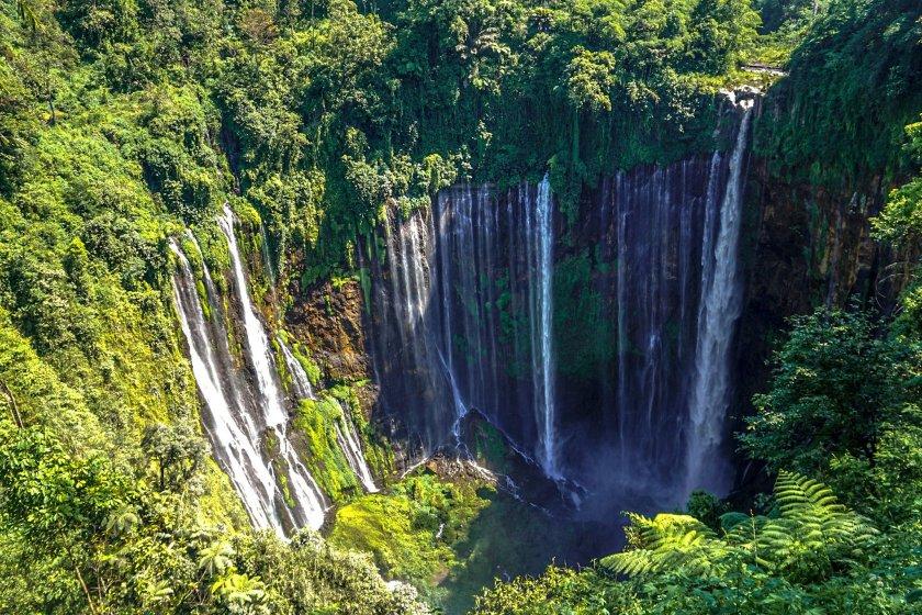 waterfalls in indonesia